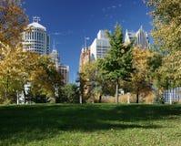 Detroit in de herfst Stock Afbeeldingen