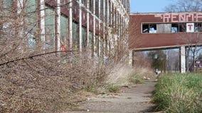 Detroit fabryka Rujnuje 14 zdjęcie wideo
