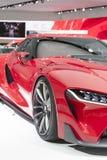 DETROIT - 26 GENNAIO: Il nuovo concetto di Toyota FT-1 al Nord A Immagine Stock Libera da Diritti