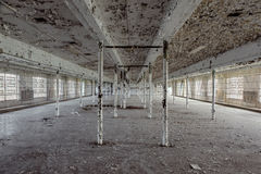 Detroit-Haus der Korrektur stockfotos