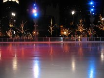 detroit ice rink obraz royalty free
