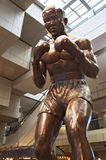 DETROIT Jan 2015, Joe Louis Statue at Cobo Hall in downtown Detroit, Michigan USA Stock Photography