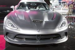 DETROIT - 26. JANUAR: Die 2014 Viper Dodges SRT im Nord-Amer Stockbild