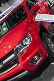 DETROIT - JANUARI 26: De nieuwe vrachtwagen van Chevrolet Colorado van 2015 bij T Royalty-vrije Stock Foto