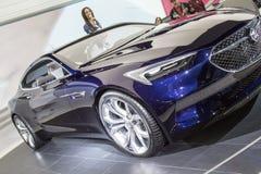 DETROIT - JANUARI 17: Het het uitzichtconcept van Buick van 2017 bij het Noorden Royalty-vrije Stock Afbeelding