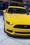 DETROIT - JANUARI 26: Nieuwe 2015 Ford Mustang bij het Noorden Ame Royalty-vrije Stock Fotografie