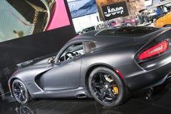 DETROIT - JANUARY 26 :The 2014 Dodge SRT Viper at The North Amer Stock Photos