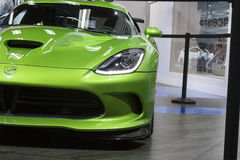 DETROIT - JANUARY 26 :The 2014 Dodge SRT Viper at The North Amer Stock Photos