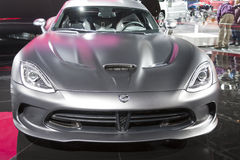 DETROIT - JANUARY 26 :The 2014 Dodge SRT Viper at The North Amer Stock Image