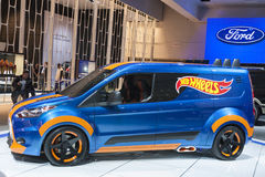 DETROIT - JANUARY 26 :Hot wheels show car at The North American Royalty Free Stock Photos
