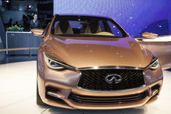 DETROIT - JANUARY 26 :The Infiniti Q3O concept at The North Amer Stock Photography