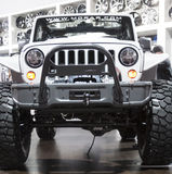 DETROIT - JANUARY 26 :The 2015 Jeep Wrangler at The North Americ Royalty Free Stock Image