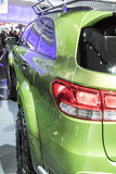 DETROIT - JANUARY 17 :The 2017 Kia PacWest Adventure Sorento Con. Cept at The North American International Auto Show January 17, 2016 in Detroit, Michigan Stock Photos