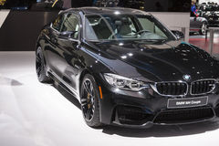 DETROIT - JANUARY 26 :The new 2015 BMW M4 coupe at The North Ame Stock Photo