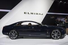 DETROIT - JANUARY 26 :The new Cadillac Elmiraj Concept car at Th Royalty Free Stock Photo