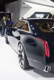 DETROIT - JANUARY 26 :The new Cadillac Elmiraj Concept car at Th Royalty Free Stock Images
