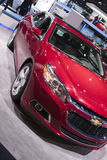 DETROIT - JANUARY 26 :The new 2015 Chevrolet Cruze at The North Royalty Free Stock Images
