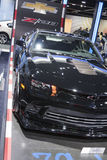 DETROIT - JANUARY 26 :The new 2014 Chevrolet Z-28 Camaro at The Stock Images