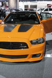 DETROIT - JANUARY 26 :The new 2014 Dodge charger at The North Am Royalty Free Stock Images