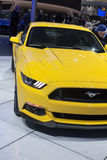 DETROIT - JANUARY 26 :The new 2015 Ford Mustang at The North Ame Royalty Free Stock Photography
