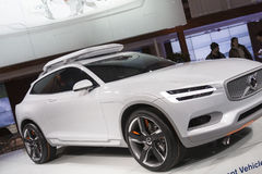 DETROIT - JANUARY 26 :The new 2015 Volvo Concept XC Coupe at The Stock Photography
