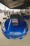 DETROIT - 2 JUIN : Le Chevrolet Corvette e spécial Photos libres de droits