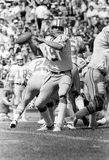 Jeff Komlo. Detroit Lions QB Jeff Komlo.  Image taken from B&W negatives Stock Photography