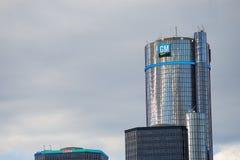DETROIT, MI - AUG 21, 2016: General Motors Building, GM Headquar Royalty Free Stock Photography
