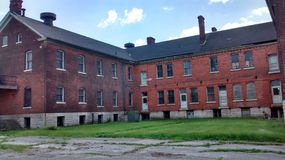 Detroit, MI. Historic Fort Wayne pre-civil war Royalty Free Stock Photos