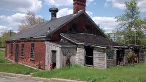 Detroit, MI. Historic Fort Wayne pre-civil war Stock Image