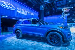 2020 Ford Explorer royalty free stock images