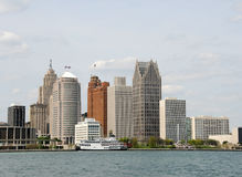 Detroit, Michigan Royalty Free Stock Photos