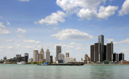 detroit Michigan Obrazy Royalty Free