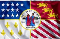 Detroit Michigan illustration libre de droits