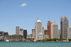 Detroit, Michigan Royalty Free Stock Photography