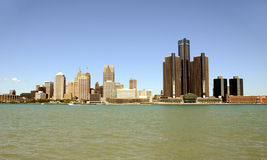 Detroit, Michigan skyline Royalty Free Stock Photo