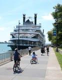 Detroit prinsessariverboat i Detroit, MI Royaltyfria Bilder