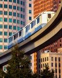 Detroit Rail Transit Royalty Free Stock Images