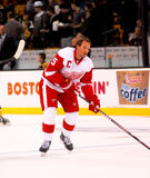 Detroit Red Wings Nicklas Lidstrom Lizenzfreie Stockbilder