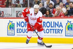 Detroit Red Wings zwodnik obrony Niklas Kronwall Obraz Stock