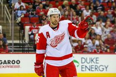 Detroit Red Wings zwodnik obrony Niklas Kronwall Obrazy Royalty Free