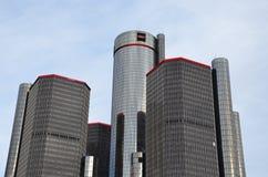 Detroit Renaissance Center Royalty Free Stock Images