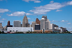 Detroit, S.U.A. Fotografia Stock Libera da Diritti