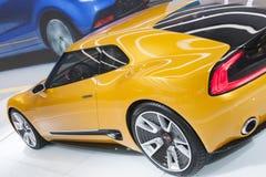 DETROIT, STYCZEŃ - 26: Kia GT4 Stinger pojęcia samochód przy Nor Fotografia Royalty Free