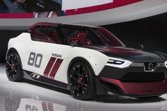 DETROIT, STYCZEŃ - 26: Nissan IDx NISMO pojęcia samochód przy Żadny Fotografia Stock