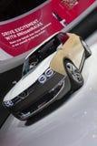 DETROIT, STYCZEŃ - 26: Nissan IDx pojęcia Freeflow samochód przy Obrazy Stock