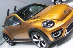 DETROIT, STYCZEŃ - 26: Volkswagen Beetle Wydmowy pojęcie przy Obraz Stock