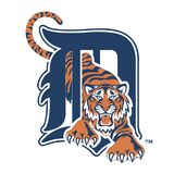 Editorial - MLB Detroit Tigers. The Detroit Tigers are an American professional baseball team based in Detroit, Michigan. The Tigers compete in Major League royalty free illustration