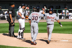 Detroit Tigers dez anos há Fotos de Stock