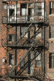 Detroit urbano Foto de Stock Royalty Free